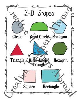 2-D Shapes Activity