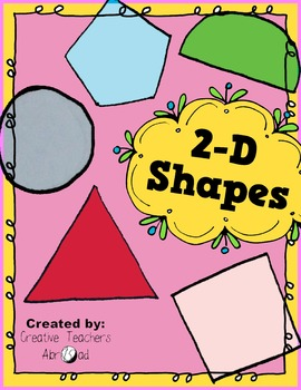 2-D Shapes Activity
