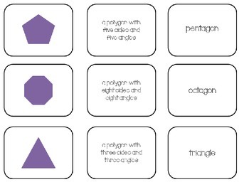 2-D Shapes Attribute Matching