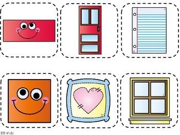 2 d shapes booklet sorting cut and paste activities for kindergarten. Black Bedroom Furniture Sets. Home Design Ideas