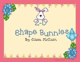 2-D Shapes Bunny Craftivity