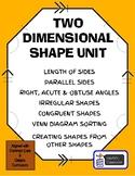 2-D Shapes Comprehensive Unit