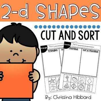2-D Shapes Cut and Sort