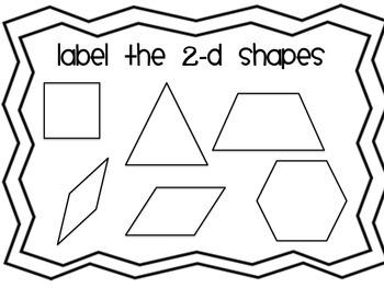 2-D Shapes Handout