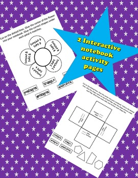 2-D Shapes Interactive Notebook