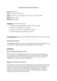 2-D Shapes Lesson Plan 1st/2nd Class, 1st/2nd Grade, KS1/2