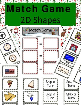 2-D Shapes Match Game