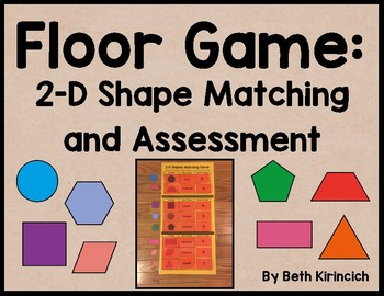 2-D Shapes Matching Game and Assessment