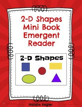 2-D Shapes Mini Book Emergent Reader