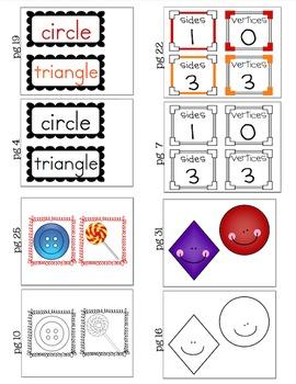 2-D Shapes Poster Kit