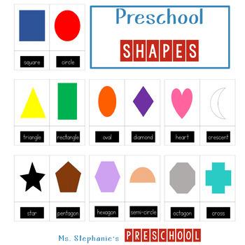 2-D Shapes - Preschool