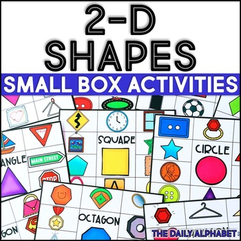 2-D Shapes: Small Box Activities