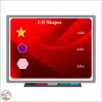 2D Shapes Smartboard Activity