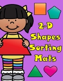 2-D Shapes Sorting Mats and Posters