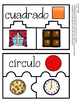 Shapes 2-D (Spanish) Activity Pack.