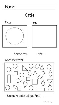 2-D Shapes for Early Childhood classes