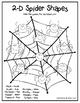 2-D Spider Shapes Assessment