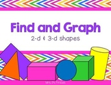 Find and Graph {2-D and 3-D Shapes}