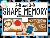 2-D and 3-D Shape Memory