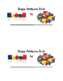 2-D and 3-D Shapes Attribute Book