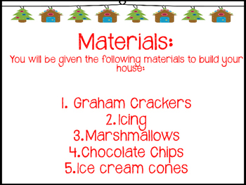 2-D and 3-D Shapes - Build a Gingerbread House STEM Challenge