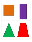 2-D and 3-D Shapes Flash Cards