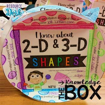 2-D and 3-D Shapes Knowledge Box