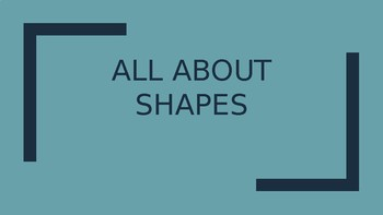 2-D and 3-D Shapes PPT