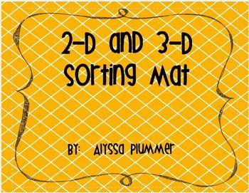 2-D and 3-D Sorting Mats