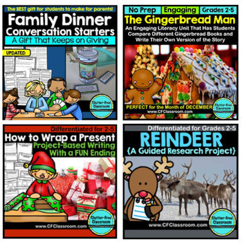December Activities - 8 Product Holiday Super Bundle