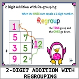 2-DIGIT ADDITION WITH REGROUPING: Activinspire Flipchart