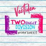 2 Digit Division Worksheet