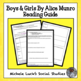 """2 Day Mini-Lesson & Student Reading Guide for """"Boys and Girls"""""""