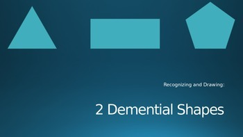 Power Point 2 Demensional Shapes