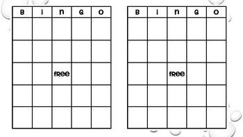 2 Dice Probability Bingo Game