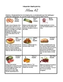 #2 - Differentiated menu of activities for independent rea