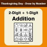 Thanksgiving Math: 2-Digit + 1-Digit Addition - Math & Art