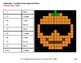 2-Digit - 1-Digit Subtraction - Color-By-Number PUMPKIN EMOJI Mystery Pictures