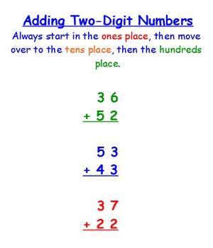 2-Digit & 3-Digit Addition SmartBoard Lesson