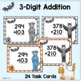 Halloween Task Cards - 2-Digit & 3-Digit Addition Without