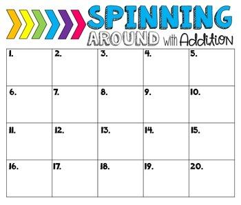 math worksheet : 2 digit  3 digit addition and subtraction spinner games by  : 3 Digit Addition Games