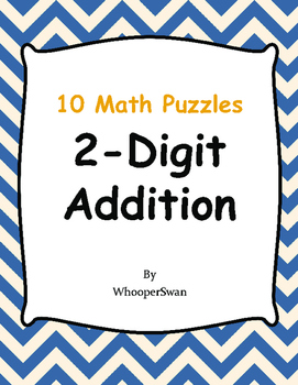 2-Digit Addition Puzzles