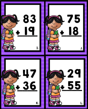 2 Digit Addition