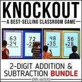 2-Digit Addition & 2-Digit Subtraction Game [KNOCKOUT Bundle]