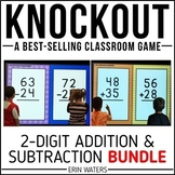 2-Digit Addition & 2-Digit Subtraction Game | KNOCKOUT | D
