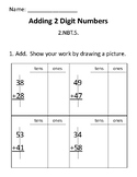2-Digit Addition Assessment