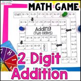 2 Digit Addition Board Game
