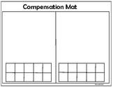 2-Digit Addition Compensation Work Mat