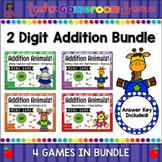 2 Digit Addition Digital Mini Game Bundle