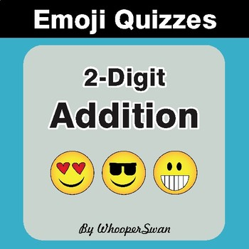 2-Digit Addition Emoji Quiz